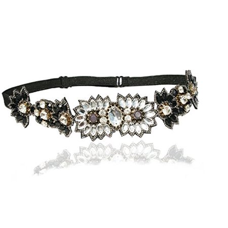 Great Gatsby Deco Rhinestone Headband and Look Sheet on All the Different Ways to Wear Including the Inspired Great Gatsby 20's Looks](Gatsby Fashion Male)