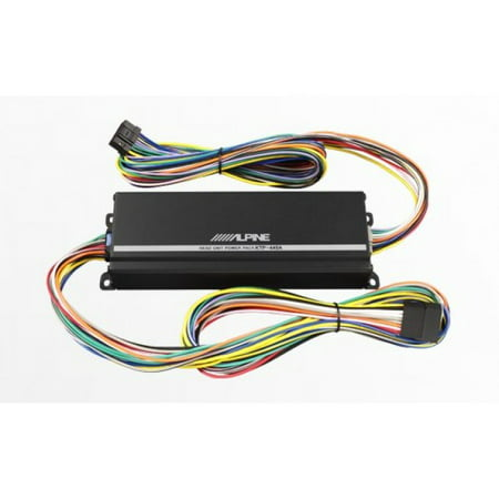 Alpine KTP-445A Power Pack 4-Channel Class D for Select In-Dash Car - Alpine Touring Accessories