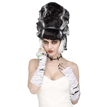 Twisted Sister Instant Womens Adult Monster Bride Character Accessory Kit (Women Mobster)