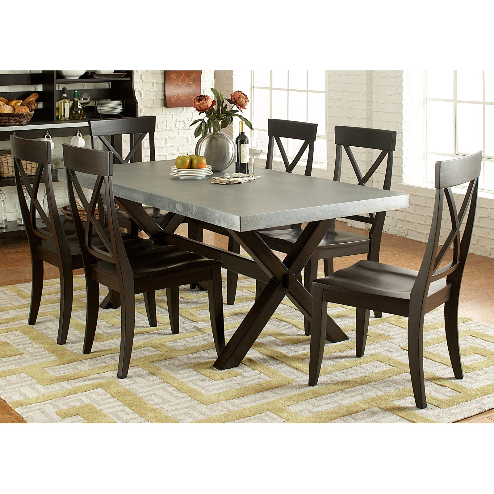 Liberty Furniture Dayton Trestle Dining Table