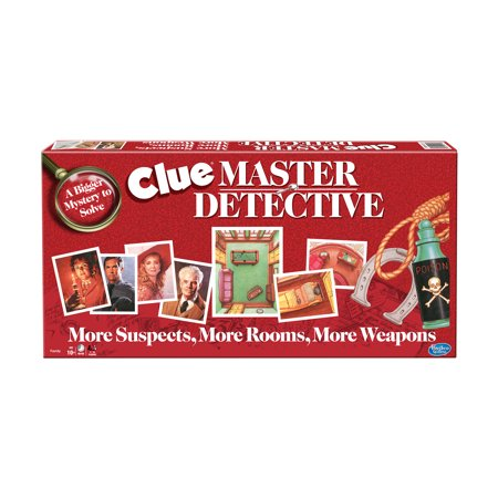 Clue - Master Detective](Clue Puzzles)