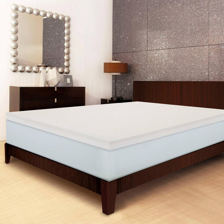 sleep innovations 4 inch mattress topper Sleep Innovations Invigorate 4
