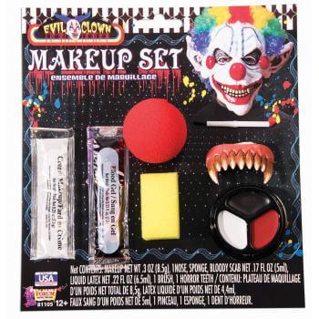 EVIL CLOWN MAKEUP KIT - Evil Clown Makeup Tutorial