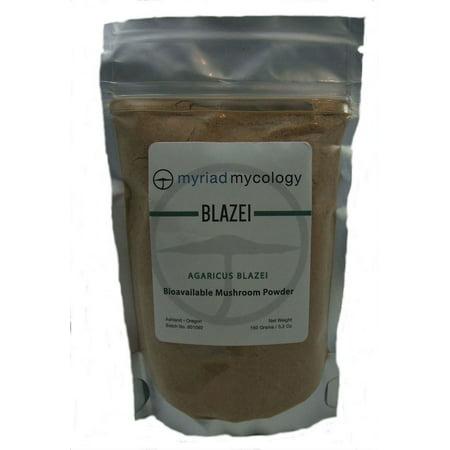 Myriad Mycology Blazei Agaricus Mushroom Powder 5.2 oz Bulk Herbs
