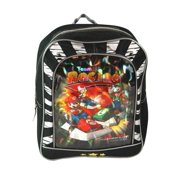Nintendo DS Mario Kart Team Racing Backpack (10 Inch), 10 Inch toddler backpack has a holographic design with Mario , Luigi , and Toad By FF LLC