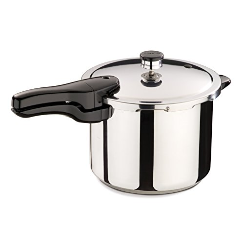 NATIONAL PRESTO IND 01362 6Quart Stainless Steel Pressure Cooker