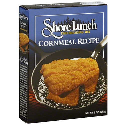 Shore Lunch Cornmeal Recipe Fish Breading Mix, 9 oz (Pack of 12)
