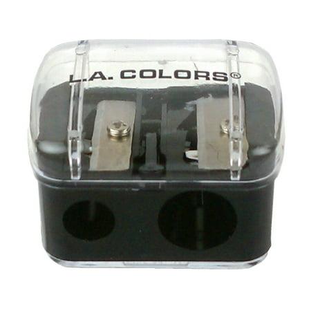(3 Pack) LA COLORS Jumbo Dual Pencil Sharpener