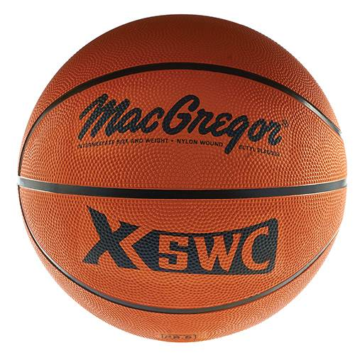 "MacGregor® Rubber Basketball Intermediate Size (28.5"")"
