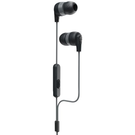 Skullcandy S2IQW-M448 Ink'd+ Wireless In-Ear Earbuds with Microphone (Black)