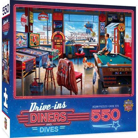 MasterPieces Drive-Ins, Diners & Dives - Pockets Pool & Pub 550 Piece