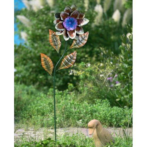 Sunjoy 110309002 Large Flower Garden Stake by SunNest Services LLC