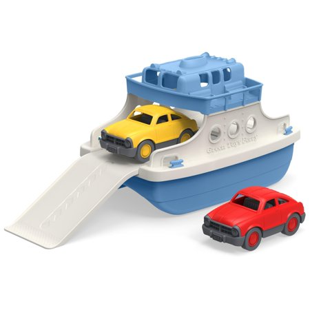 Green Toys Ferry Boat (Other) (Green Toy Ferry Boat With Mini Cars)