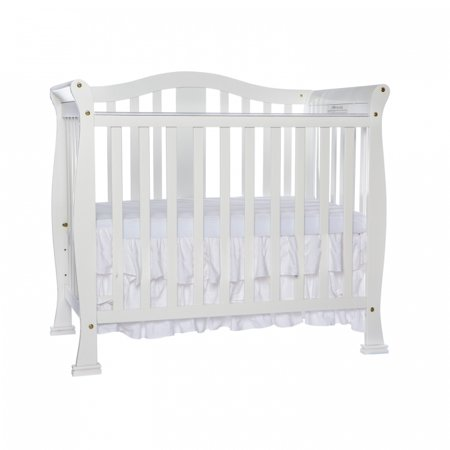 Dream On Me Naples 4-in-1 Convertible Mini Crib White