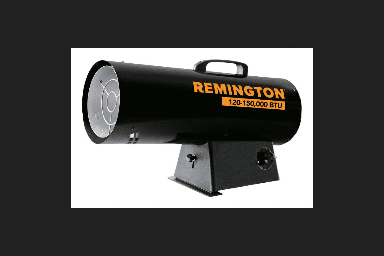 Remington 125000 BTU hr. 3125 sq. ft. Forced Air Kerosene Heater by Remington