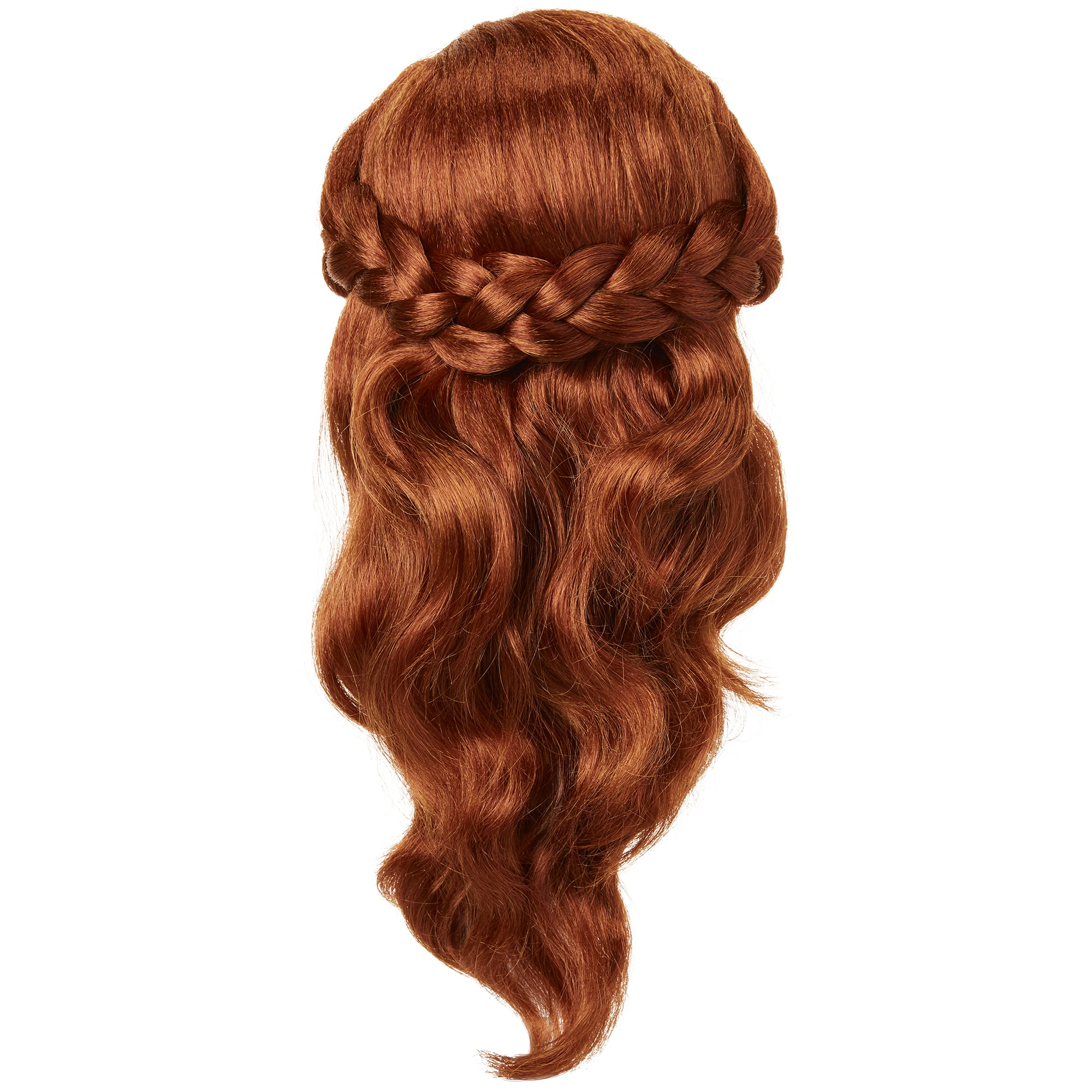 Disney Authentic Frozen 2 Anna Costume Wig for Kids Dress Up NEW