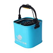 Collapsible Water Bucket Portable Folding Water Container Multi-Function for Backpacking Trip Camping Fishing Car Washing