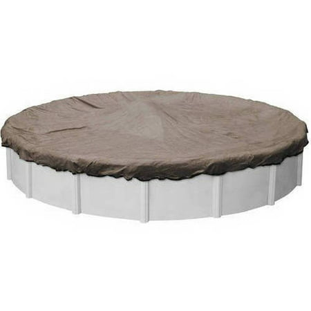 Extreme Mesh Xl Taupe Winter Cover For Round Above Ground Swimming Pools