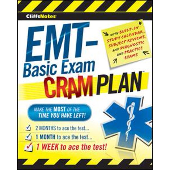 CliffsNotes EMT-Basic Exam Cram Plan - Walmart.com