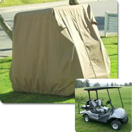 4 Passenger Golf Cart Cover Waterproof Heavy Duty For Yamaha EZ Go Club Car