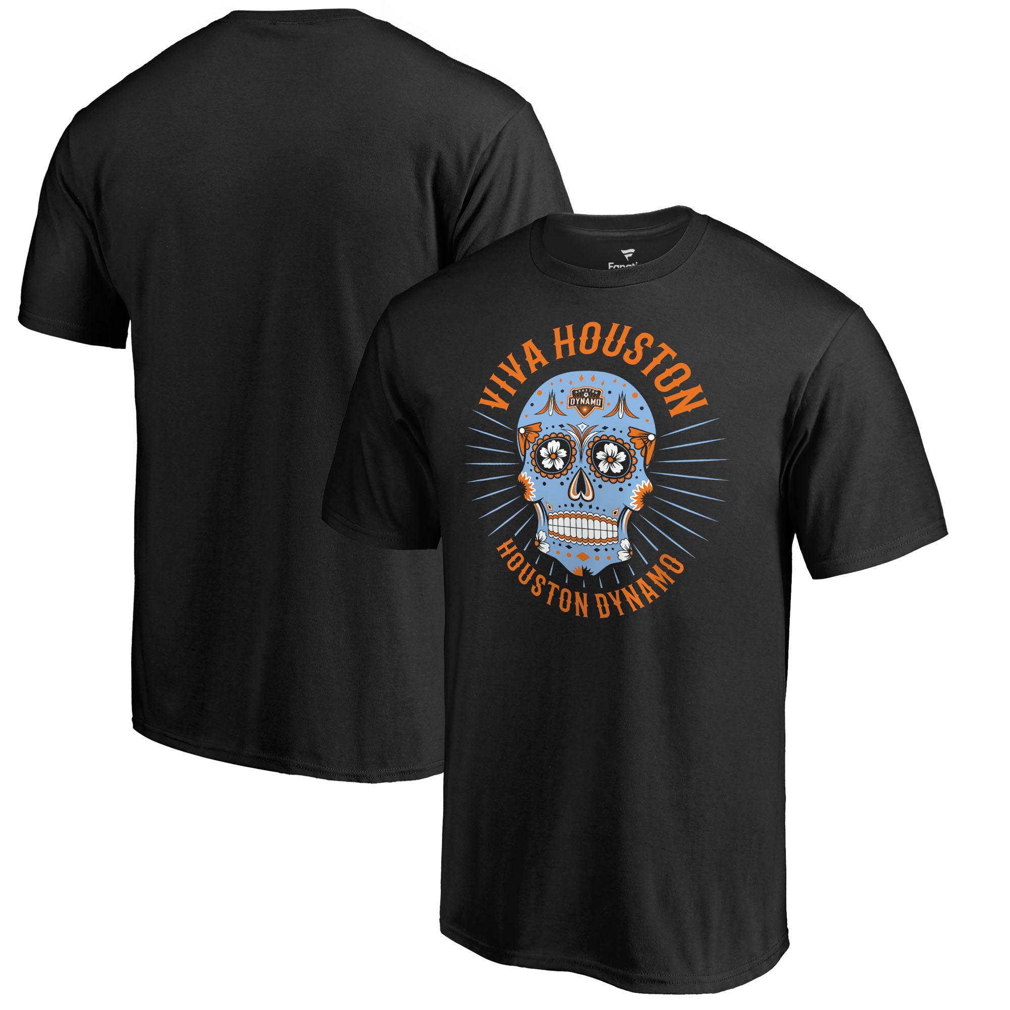 Houston Dynamo Fanatics Branded Hispanic Heritage Viva T-Shirt T-Shirt - Black