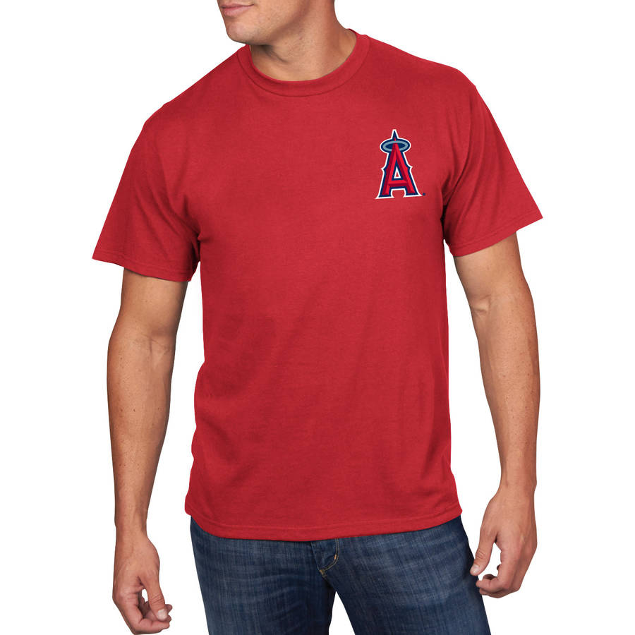 MLB Men's Los Angeles Angels Tee, Mike Trout