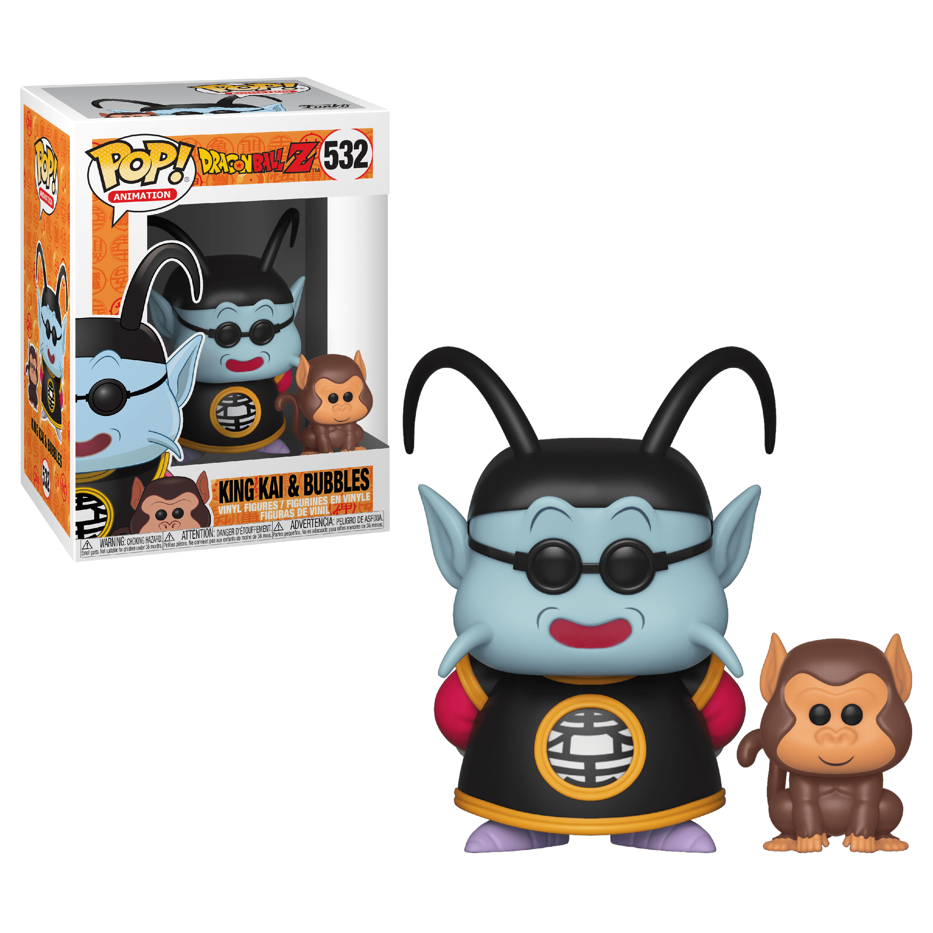 Funko POP! & Buddy: DBZ S5 - King Kai & Bubbles