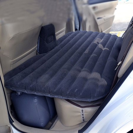Car Air Bed Inflatable Mattress Back Seat Cushion 2 Pillows For
