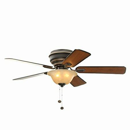 Hampton bay hawkins 44 in tarnished bronze ceiling fan