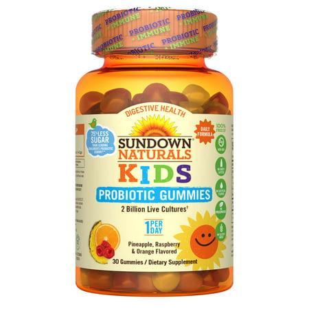 Sundown Naturals® Kids Probiotic Gummy, 30