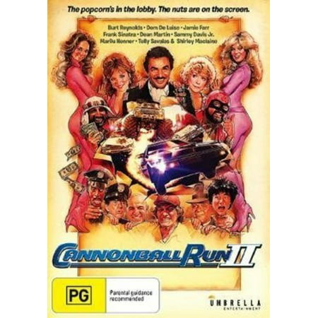 Cannonball Run II (DVD) (Sink To The Bottom Like A Cannonball)