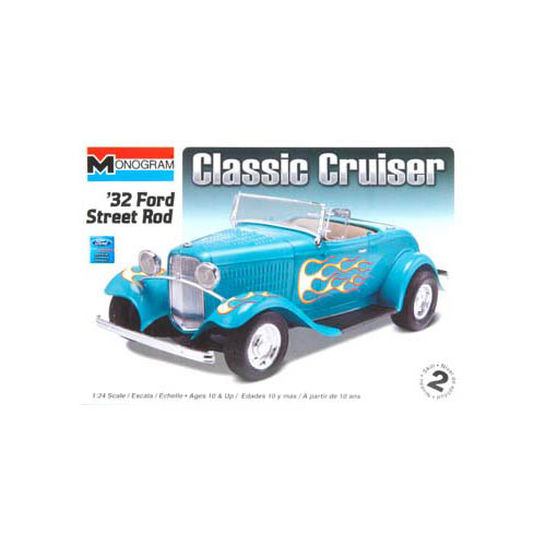 850882 1/24 '32 Ford Street Rod Multi-Colored