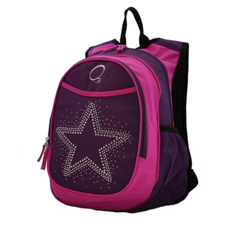 Obersee Kids Pre-School Star Backpack with Integrated Lunch Cooler