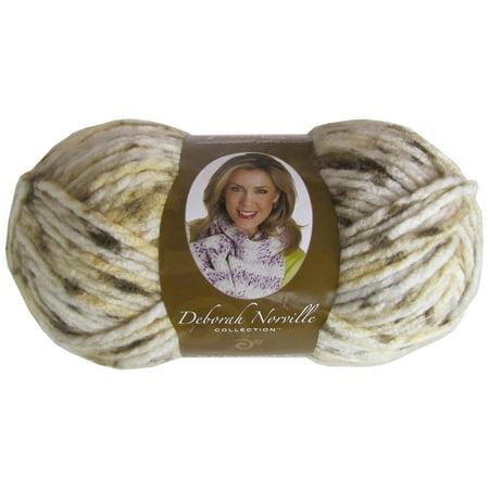 Berry Chutney - Deborah Norville Serenity Chunky Yarn: Almond