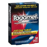 6 Pack Tagamet Acid Reducer, 200mg Cimetidine Tablets, 30 Count each