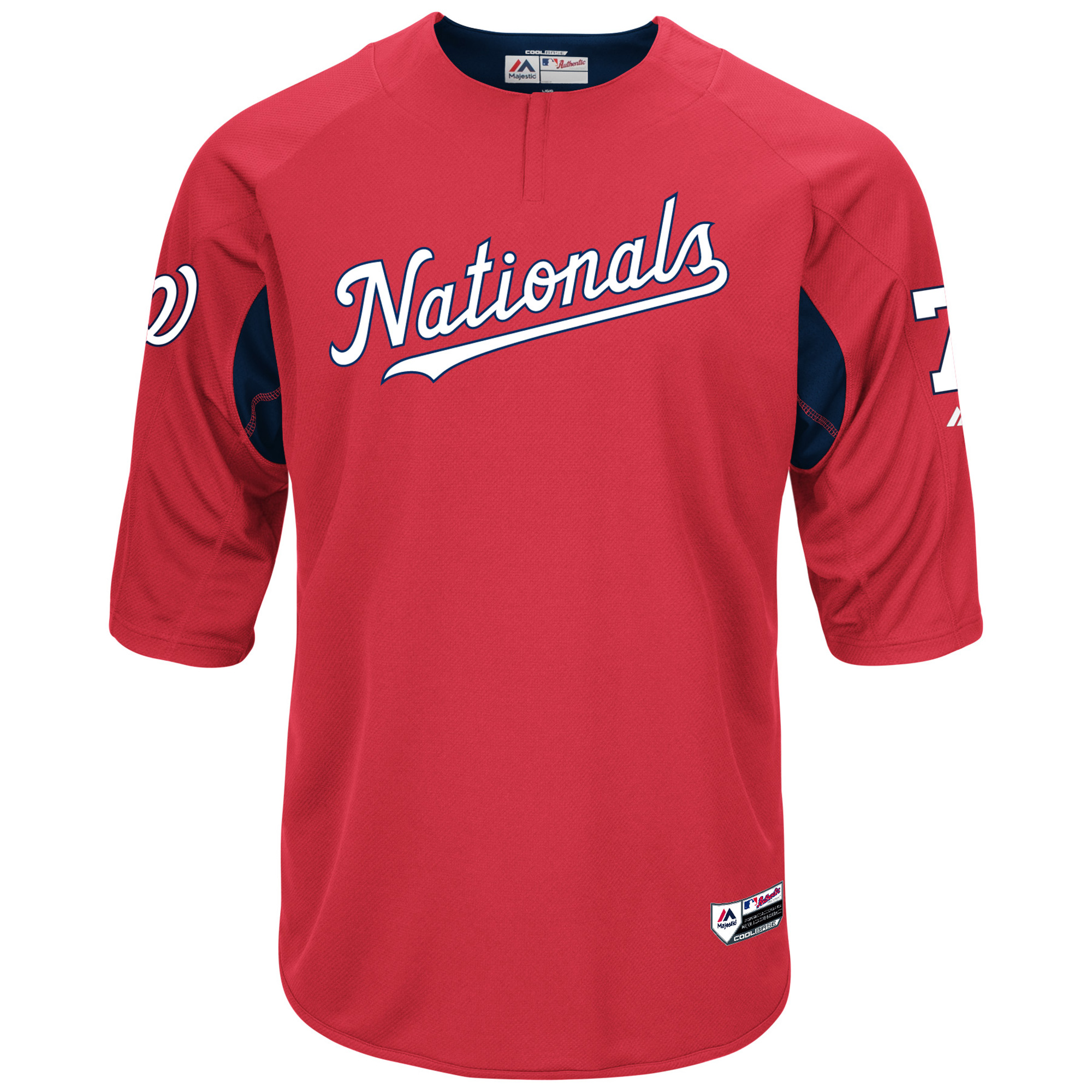 buy popular 841b9 ee0e8 Trea Turner Washington Nationals Majestic Authentic Collection On-Field  Player Batting Practice Jersey - Red