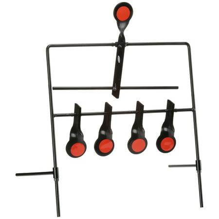 """Allen Metal Resetting Target w/Five 1"""" Targets"""