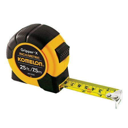 Komelon W4125im 25Ft 7 5M Inch Metric Tape Measure