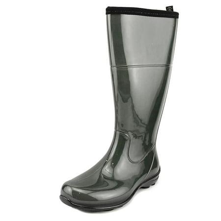- Kamik Naomi Women  Round Toe Synthetic Green Rain Boot