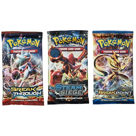pokemon tcg: 3 booster packs 30 cards total| value pack includes 3 blister packs of random cards | 100% authentic branded pokemon expansion packs | random chance at rares & holofoils