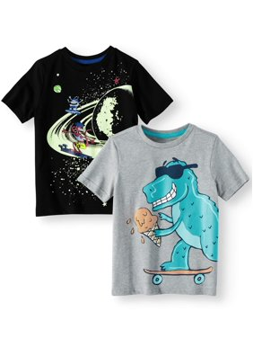 d13f7c523f8d Product Image 365 Kids from Garanimals Graphic T-Shirts, 2-Piece Multi-Pack  Set