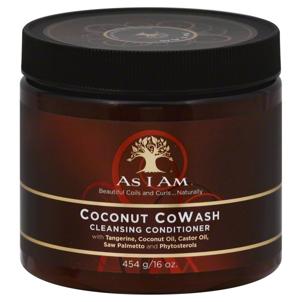 As I Am Coconut CoWash Cleansing Conditioner, 16.0 OZ