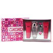 XOXO For Ladies 3.4 Sp/3.4 Body Lotion/3.4 Shower Gel/Keychain Size: Set