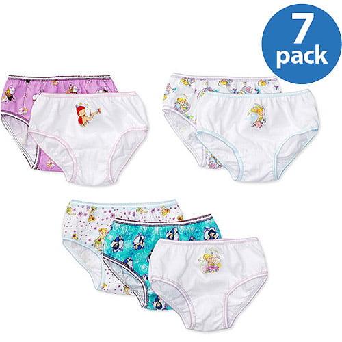 Disney Girls' Tinkerbell Panties, 7-Pack