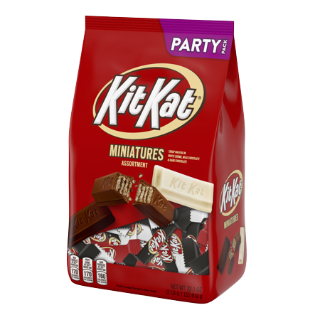 Kit Kat, Miniatures Assortment Party Bag, 32.1 oz](Halloween Kit Kat)