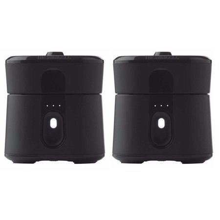 Thermacell Radius Zone Compact Mosquito Repeller (Black, 2-Pack) ()
