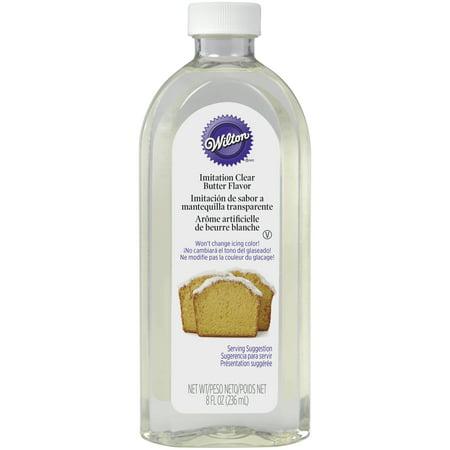 Butter Liquid (Wilton No-Color Butter, 8 oz.)