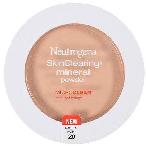 Neutrogena Skinclearing Mineral Powder, Natural Ivory 20, 0.38 oz