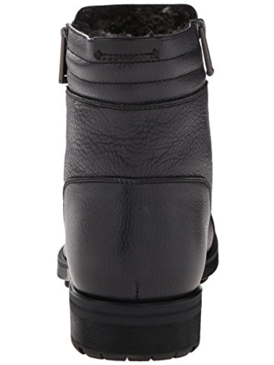Aquatalia by Marvin K. Mens Hugh Leather Weatherproof Ankle Boots