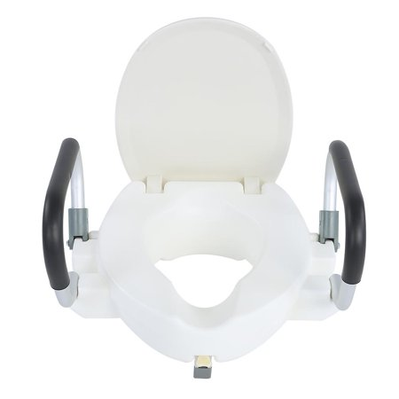 Walfront Elevated Raised Toilet Seat 10cm 3 94inch